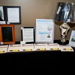 163618-3867 ZCIWD - Silent Auction display