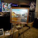 163705-3876 ZCIWD - Silent Auction display - art