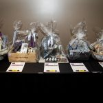 163754-3884 ZCIWD - Silent Auction display - home decor baskets