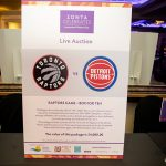 164743-4023 LIVE AUCTION - #5 Raptors Box for 10