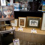 163642-3871 ZCIWD - Silent Auction display - art section