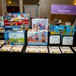 163733-3878 ZCIWD - Silent Auction display - KIDS & FAMILY