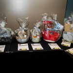 163758-3886 ZCIWD - Silent Auction display - home decor baskets