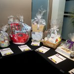 163801-3888 ZCIWD - Silent Auction display - home decor baskets