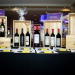 164347-3991 ZCIWD - Silent Auction display - WINE WALL - FINE WINES
