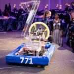 175249-4181 ZCIWD 2020 - St. Mildred's Robotic Team - demo on stage